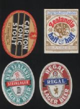 Beer label bottle labels  New Zealand #054